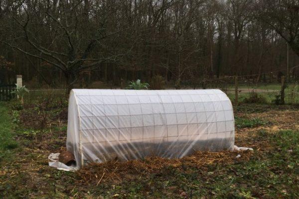 Au jardin, auto-construire une petite serre ... le bon plan !