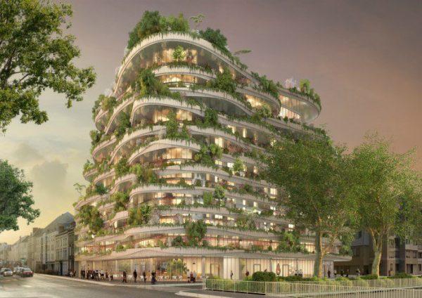 Ville - habitat écologique ? ... Ksar Tafilelt au Maroc / Bio-immeuble à Angers ?