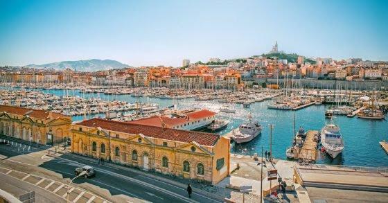 Villes vertes ... et oui Marseille est la mieux placée pour la France !, et pour la ville bleu, direction ...