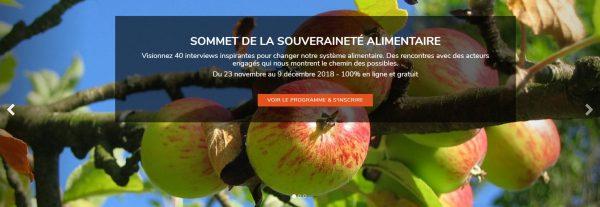 En vrac / 1er sommet de la Souveraineté alimentaire
