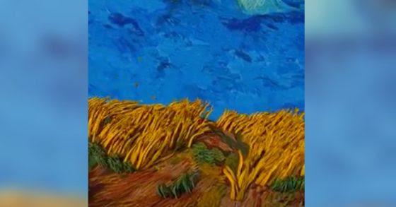 La peinture comme vous ne l'avez peut être jamais vu ...
