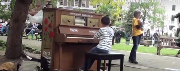 Piano ... de rue ou de salon