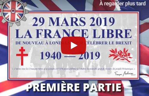 """Brexit, Frexit, une réunion """"historique"""" franco-anglaise à Londres le 29 mars 2019"""