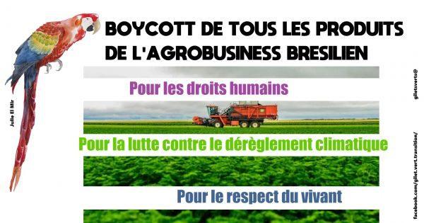 Appel au boycott, blocage d'usine, résister de façon responsable et efficace
