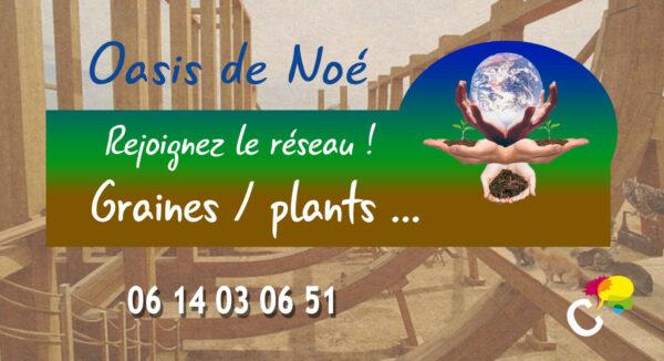 Les Oasis de Noé, une super idée de S.E.L de Terre, relayée par Citoyliens