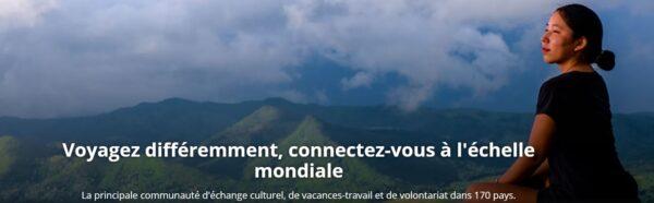 Voyagez différemment, connectez-vous à l'échelle mondiale